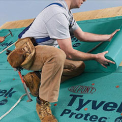 Tyvek by DuPont - DuPont Tyvek®  Roofing Underlayment